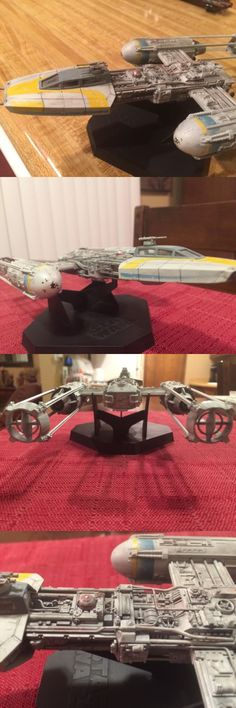 Star Wars 49212: Star Wars Y-Wing Model Fine Molds 1 72 Scale Built And Painted -> BUY IT NOW ONLY: $120 on eBay!