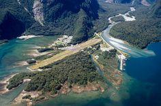 Milford Sound airstrip, New Zealand