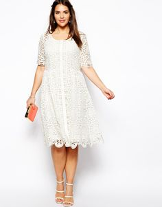 Plus Size Spring Outfits | 2014 Spring and Summer Plus Size Dresses 9