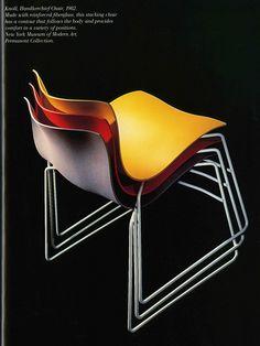 Handkerchief chair, design by Vignelli