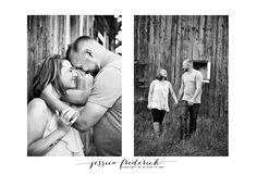 Megan and Russell | Engagement Session West Michigan Wedding Photographer Jessica Frederick Photography