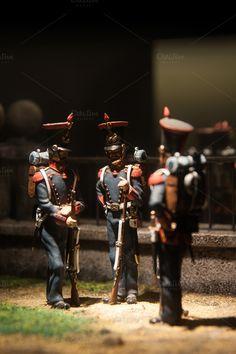 Tin soldiers by algarabi on Creative Market