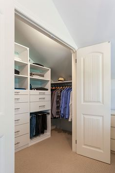 How To Purchase A Custom Closet: Jay & Lissa Get Organized. Discover why one Toronto couple purchased a custom closet instead of trying to organize it themselves.
