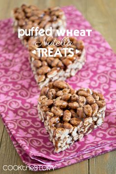 A way for me to use the puffed wheat that I don't like in place a cereal.