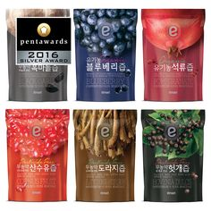 emart Pouched Healthy Drinks on Packaging of the World - Creative Package Design Gallery