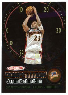Jason Richardson # TC 5 - 2005-06 Topps Total Basketball - Total Competition