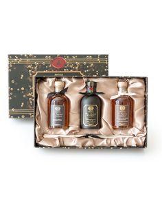 Diffuser Trio Prosecco - Manhattan and Vanilla, Bourbon & Mandarin, 100 mL each