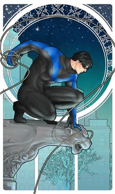 Nightwing Nouveau by ~st00pz on deviantART
