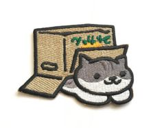 Pepper Enamel Pin Neko Atsume by TheSilentBell on Etsy