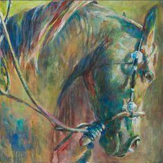 equine art, horse art, Arabian Appaloosa