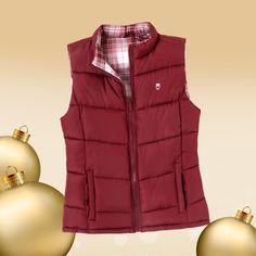 Una prenda, dos looks. Este chaleco reversible de #Mossimo es ideal para una chica como tú.