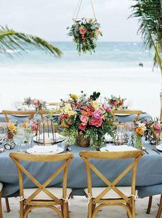 Floral Design: VANESSA JAIMES Floral Design - http://vanessajaimes.com Ceremony Venue: Akin Beach Club - http://www.stylemepretty.com/portfolio/akiin-tulum Wedding Planning: Fresa Weddings Mexico - http://www.stylemepretty.com/portfolio/fresa-weddings-mexico   Read More on SMP: http://www.stylemepretty.com/destination-weddings/mexico-weddings/2017/05/19/a-colorful-tulum-mexico-lovefest/