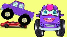 Monster Trucks Teaching Toddlers Colors and Crushing Cars - Education in English Watch our favorite Monster Truck, Tobey teach toddlers and children their co. Monster Truck Videos, Monster Trucks, Kids Fun, Cool Kids, Teaching Toddlers Colors, Truck Videos For Kids, Engage In Learning, Learning English, Educational Videos