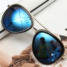 839b383672 Retro Vintage Sport Sunglasses Fishing Goggle Glasses Mens Sport Sunglasses