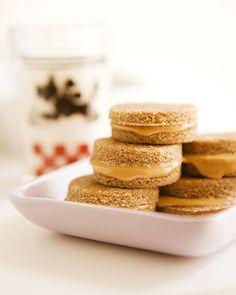 Dog Treats: Peanut Snack Sandwiches - http://www.sweetpaulmag.com/food/dog-treats-peanut-snack-sandwiches #sweetpaul