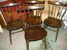 Vanhat pinnatuolit 11kpl Dining Chairs, Furniture, Home Decor, Egg, Dining Chair, Interior Design, Home Interior Design, Dining Table Chairs, Arredamento