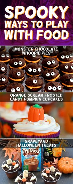 Spooky treats for Halloween!
