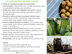 alimentos permitidos Cereal Sin Gluten, Comida Keto, Sprouts, Food, Pai, Iron Rich Foods, Paleo Food, Food Groups, Beets