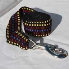 Handwoven Inkle Band Dog Leash by etsy's wovendreams