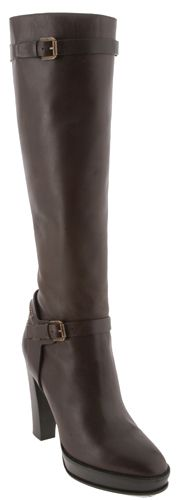 $1000 boots marked down to $199 on eBay. Wish I had the money to buy them! (Ralph Lauren Womens Dark Brown Sport Calf Teressa Knee Boots)