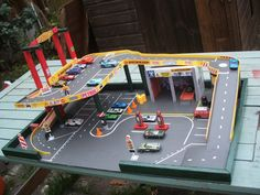 Afbeeldingsresultaat voor diy hot wheels parking garage
