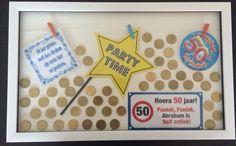 Leuk idee als cadeau voor een 50 jarige (50 50centjes)