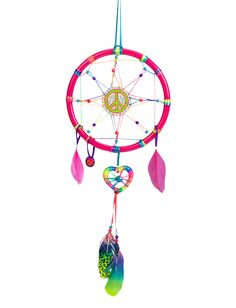 peace and heart dreamcatcher room accessories room decor shop justice - Shop Bedroom Decor