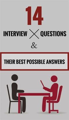 14 Interview Questions And Their Best Possible Answers – ZoomZee - Modern Most Common Interview Questions, Interview Questions And Answers, Job Interview Tips, Job Interviews, Interview Coaching, Interview Preparation, Resume Writing Tips, Job Info, Job Career