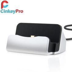 Cinkeypro estación del muelle del cargador micro usb de sincronización de escritorio adaptador de dispositivo de carga del teléfono móvil inteligente para el teléfono android universal