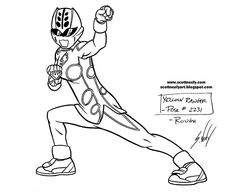 yellow power rangers jungle fury coloring pages for girls enjoy coloring
