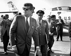 John F Kennedy at Homestead Air Force Base.