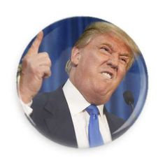 Donald Trump Pinback Button