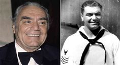 "Ernest Borgnine joined the US Navy in 1935 and was discharged in '41 but re-enlisted at the outbreak of WWII - he served a total of 10 years. And then he went to star for years on ""McHale's Navy""!"