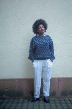 Meet my vintage Armani sweater.