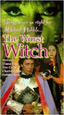 It's almost time for some great Halloween movies and TV fun! We love this one - The Worst Witch with Tim Curry, Charlotte Rae, Fairuza Balk… The Witch Film, Witch Tv Series, Halloween Disney Movies, Halloween Fun, Halloween Costumes, Vampire Circus, Charlotte Rae, Fairuza Balk, Bbc Tv Shows