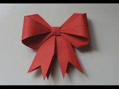 In this tutorial, I'll show you how to make a paper bow for cards & wrapping presents! This paper bow is a great Christmas craft to add a DIY and homemade to...