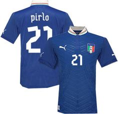 New Italy Jersey 2012 by Puma for Euro 2012 latest arrival at Vancouver soccer store North America Sports. 604-299-1721