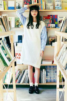 #知的女子を気取る日 | 7 WEEKS with NANA - haco.magazine