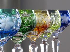 German Crystal Wine Glasses