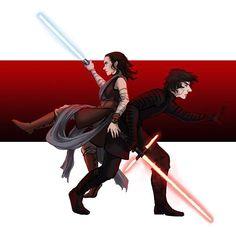 Star Wars | Daisy Ridley |   Rey | Adam Driver | Kylo Ren | Ben Solo #thelastjedi