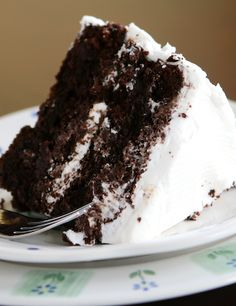 How to doctor up a chocolate cake mix so it is the BEST chocolate cake you've ever had! @Amanda Snelson | Kevin and Amanda