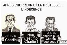Sarkozy Hollande et Valls : récupération politicienne