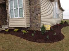 Low maintenance landscape design & installation for frontyard areas by Ryan's Landscaping in Hanover, Pa.