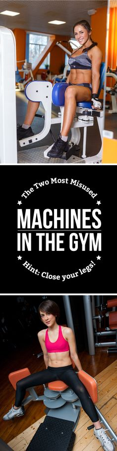 Among the sea of equipment on the gym floor, there are two that people really need to revaluate using... #fitgirls #fitness #exercise #workouts #weightloss