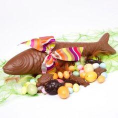 Fish Easter chocolate milk