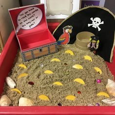 Phonics table - buried treasure