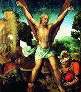 """ANDRÉ  Foi discípulo de João Batista, de quem ouviu a seguinte afirmação sobre Jesus:""""Eis aqui o Cordeiro de Deus"""". André comunicou as boas notícias ao seu irmão Simão Pedro: """"Achamos o Messias"""" (João 1.35-42; Mateus 10.2). O lugar do seu martírio foi em Acaia (província romana que, com a Macedônia, formava a Grécia). Diz a tradição que ele foi amarrado a uma cruz em forma de xis (não foi pregado) para que seu sofrimento se prolongasse."""