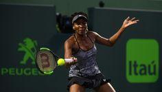 Venus downs Kerber to set up Konta clash at WTA Miami