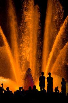 Magic Fountain. Barcelona (Catalunya - Catalonia).