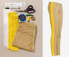 MODA E DICAS DE COSTURA: awesome idea to make pants bigger